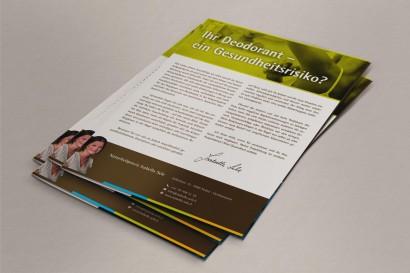 Naturheilpraxis Isabella Sele – Informationsbroschüre